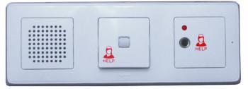КП-03 консоль переговорная с гнездом для подключения кнопки для лежачих больных