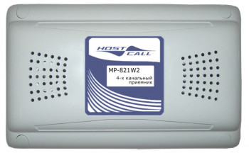 MP-821W2 4-х канальный радиоприемник
