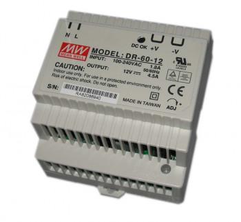 DR-60-12 PBF MW Блок питания 12В/4,5А