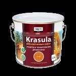 Защитно-декоративный состав для древесины KRASULA